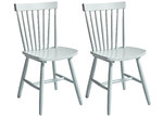 Lifestyle Direct Wholesalers Simple Living Ari Spindle Dining Chairs (Set of 2)