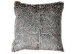 Bella Casa Aran Faux  Fur Square Cushion