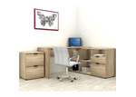 In Home Furniture Style Rico L-Shaped Executive Desk