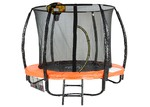 KOutdoorCollective Collection Sky High Classic Trampoline with Basketball Set