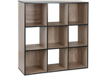 Kodu Black Trim Benson 9 Shelf Organiser
