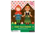 Petit Collage Fairy Tales Magnetic Dress Up Toy Board