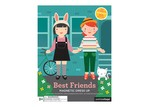 Petit Collage Modern Girls Magnetic Dress Up Toy Board