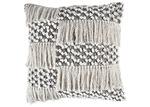 Temple & Webster Monochrome Mireya Cotton Cushion