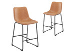 Temple & Webster Phoenix Vintage-Style Barstools (Set of 2)