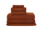 Temple & Webster 6 Piece Cinnamon Willow 600GSM Turkish Cotton Towel Set