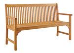 Temple & Webster Belize Wooden Outdoor Bench