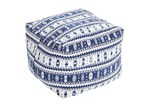 Collective Sol Amalfi Cotton Ottoman Cover