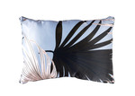 Sunday Homewares Blue Tropical Hui Rectangular Cotton Cushion