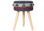 Sunday Homewares Mano Cotton Accent Stool
