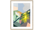 Sunday Homewares Plant Love Wattle Collage Framed Printed Wall Art