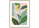 Sunday Homewares Plant Love Daffodil Dream Framed Printed Wall Art