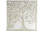 High ST. Square Tree Of Life Wood Wall Art