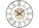 High ST. 80cm Marseilles Metal Wall Clock