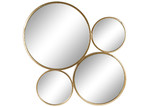 High ST. Gold Aura 4 Disc Wall Mirror