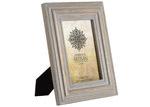 "High ST. Natural & Grey Artisan 5 x 7"" Wooden Photo Frame"
