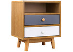 Dwell Home Jarpen Wooden Bedside Table