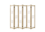 Dwell Home Privato 6 Panel New Zealand Pine Room Divider