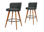 Dwell Home 66cm Bourleigh Rounded Barstools (Set of 2)