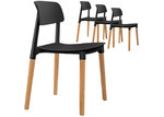 Dwell Home Florence Stackable Dining Chairs (Set of 4)