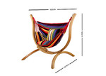 Dwell Outdoor Gardeon Hammock with Wooden Stand