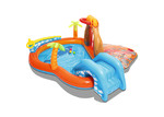 Dwell Outdoor Lava Lagoon Inflatable Outdoor Play Centre
