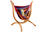 Dwell Outdoor Gideon Hammock with Wooden Stand