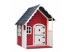 Dwell Kids Red Conair Wooden Playhouse