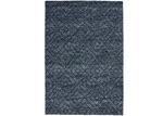 Weave Navy Makalu Hand-Woven Rug