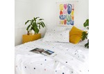 More Than Ever Spot & Dot Cotton Fitted Sheet