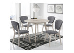 Nordic House Snow Round Dining Table