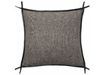 L & M Home Trimmed Burton Square Linen Cushion