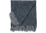 L & M Home Burton Linen Throw