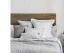 L & M Home Soho European Linen Quilt