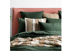 L & M Home Forest Attic French Linen-Blend Quilt Cover Set