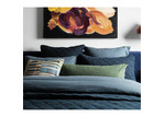 L & M Home Midnight Attic French Linen-Blend Quilt Cover Set