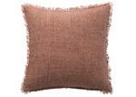 L & M Home Earth Burton Linen Cushion