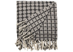 L & M Home Geometric Lama Cotton Throw