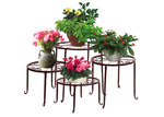 Levede 4 Piece Metal Pot Plant Stand Set