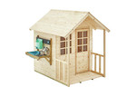 TP Toys TP Toys Deluxe Meadow Wooden Cottage Playhouse Set