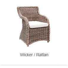 Wicker/Rattan Outdoor Chairs