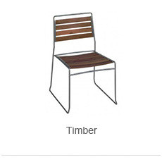 Timber Outdoor Chairs