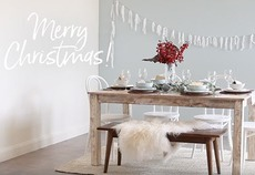 How to: style the perfect festive dining table