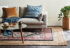 Natural fibre rug guide