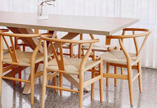 Where it went: Hans Wegner Replica Wishbone Chairs