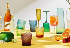 Refreshing spritz cocktails