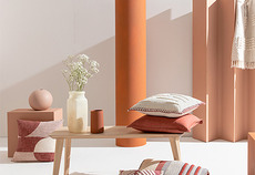 How to decorate with the colour clay