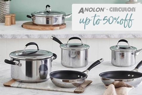 Circulon & Anolon on sale