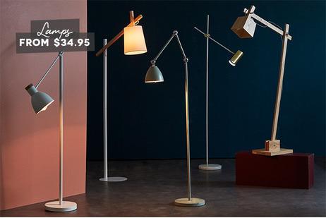 Floor lamps under $199