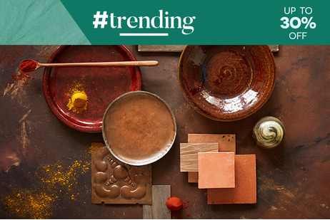 #trending Colours - Spice